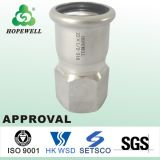 Sanitary Male Female Stainless Steel Pipe Fitting