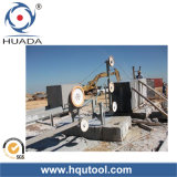 Diamond Wire Saw Machine for Stone Block Squaring