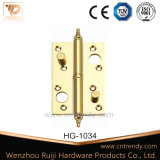 Door Hardware Removable Flat Brass Security Lock Hinge (HG-1034)