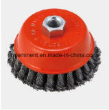 M14 Grinder Mounted Twist Knot Cup Brush