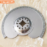 91mm Diamond Grout Segmented Saw Blade Multi Tool Serrated Knife Blade