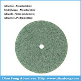 G101 Silicone Carbide Made Medium Grit Green Stone Abrasive Wheel