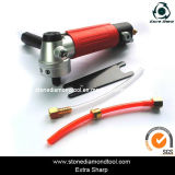 Pneumatic Power Stone Air Wet Angle Grinder
