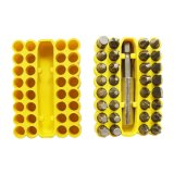 33PCS Power Tools Accessories Cr-V Electric Screwdriver Bits Set