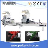 High Precise Aluminum and PVC Window Double Head Cutting Saw