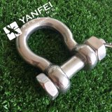 Rigging Hardware Stainless Steel Us Type Bow Shackle