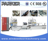 CNC Control High Precision Aluminum Window Door Double Mitre Cutting Saw