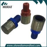 M12 Male Thread Finger Bit Tip Diamond Finger Bits