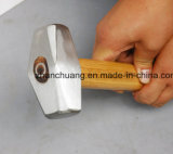 Germany Type Machinist&Primes High Carbon Teel Wooden Handle Stone Hammer