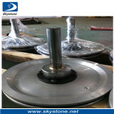 Diamond Pulleys for Wire Saw, Pulley with Rubber Belt