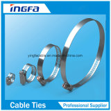 American Style Stainless Steel Hose Clamp for Fastening Connection