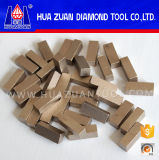 High Efficiency 1 Meter Diamond Segments for Cutting Marble