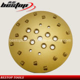250mm PCD Wheel with Sixteen Segments for Epoxy Removal