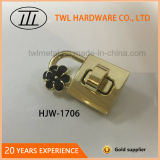 Hanging Decoration Metal Lock Hardware for Handbag, Turn Lock
