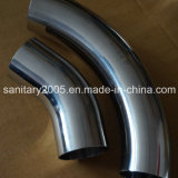 Sanitary Stainless Steel Welded 90 Degree Elbow for Food Industry