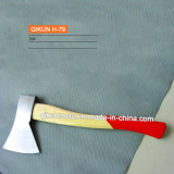 H-79 Construction Hardware Hand Tools Painted Wooden Handle Axe