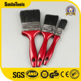 Custom Logo Plastic Handle Synthetic Bristle Paint Brush