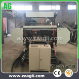 Electric Engine Portable Band Sawmill Horizontal Timber Band Saw Machine