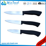 Manufactory Wholesale Hotel Restaurant Kitchen Ceramic Knife with Rubber Coated Handle