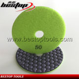 50# Grit Honeycomb Dry Granite Diamond Flexible Polishing Pad