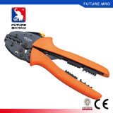 Cold Pressed Terminal Crimping Pliers Tools with Muti-Functional Ratchet
