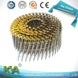 15 Deg Wire Coil Nails for Construction, Decoration, Packaging