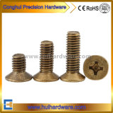 DIN965 Phillips Countersunk Head Brass/Copper Machine Screws