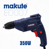 Makute 10mm 350W Professional Electric Drill with Colour Box Packing (ED007)