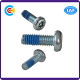 Carbon Steel Flower Pan Head Screw with Column for Building