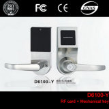 Electronic Single Latch RFID Card Digital Smart Hotel Door Locks