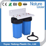 Double 10'' Blue Jumbo Pipe Filteration Water Filter Water Purifier