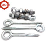 Carbon Steel Zinc-Plated Eyele Bolt / Eye Hook Screw