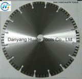 Turbo Segmented Diamond Saw Blade with Reinforced Center for Cutting Granite