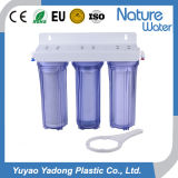 3 Stage Water Filter for 3 Clear Housing