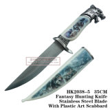 Wolf Hunting Knives Camping Knife Tactical Survival Knife 34cm