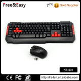 Home or Office Desktop Used USB Wireless Standard Keyboard and Mouse Combo