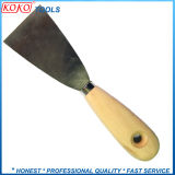 Normal 95mm Wooden Handle Carbon Steel Putty Knife