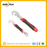 Multi-Function 2PCS Universal Wrench Adjustable Grip Wrench Set 9-32mm Ratchet Wrench Spanner Hand Tools