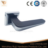 Well Selling Zinc Alloy Door Handle on Square Rose (Z6361-Zr13)