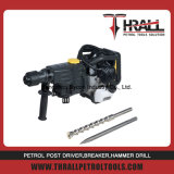 Thrall Hand pull start gasoline rock drill hammer
