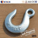 H324 Electro Galvanized Drop Forged Eye Slip Hook
