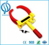 Red and Yellow Small Wheel Clamp for Car for Motorcycle