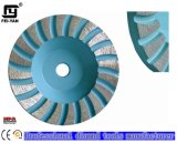 Turbo Type Single Row Cup Wheel for Stone Polshing