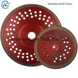 Hot Pressed Turbo Ceramic Tile Diamond Flange Saw Blade, Diamond Disc