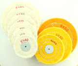 Hot Sell 3'/4'/5'/6' Lnch Cotton Rough Dental Cloth Wheel