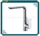 Newly Designed Long Neck 35mm Deck Mounted Waterfall Sink Faucet