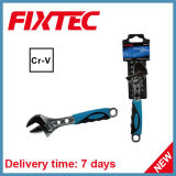 Fixtec Hand Tool 6'' CRV Material Adjustable Wrench