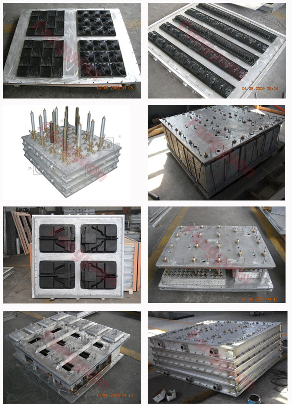 Strong aluminum alloy eps mould for building block mold for Fish house frames manufacturers